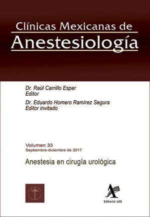 Anestesia en cirugía urológica (CMA VOL. 33)