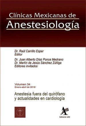 Anestesia fuera del quirófano y actualidades en cardiología (CMA Vol. 34)